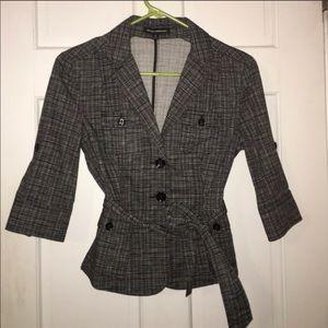Express 3/4 sleeve blazer, size 00